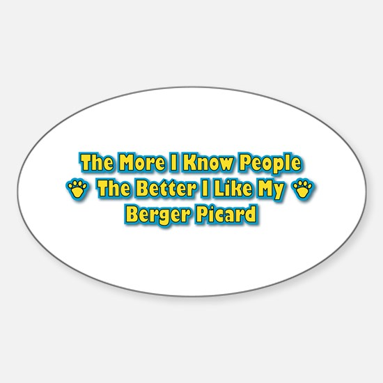 Like Berger Oval Decal