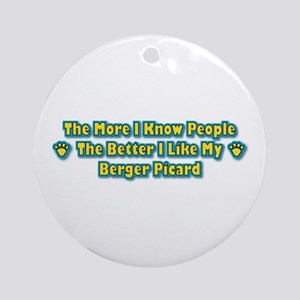 Like Berger Ornament (Round)