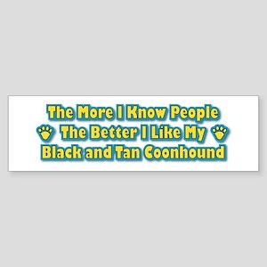 Like Black and Tan Bumper Sticker