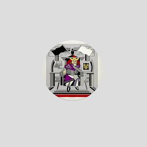 king arthur Mini Button