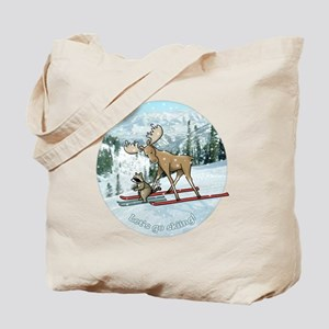 Lets go skiing! Tote Bag