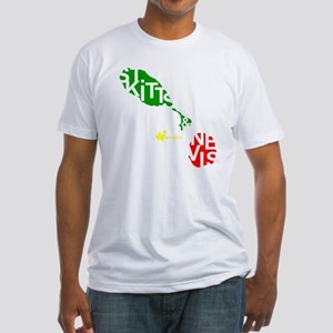 St. Kitts  Nevis Fitted T-Shirt