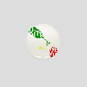 St. Kitts  Nevis Mini Button