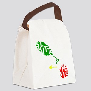 St. Kitts  Nevis Canvas Lunch Bag