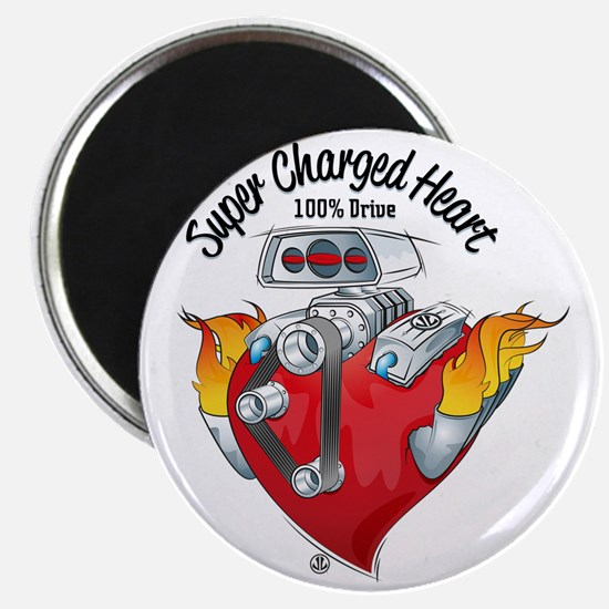 Super Charged Heart 100% Drive Magnet
