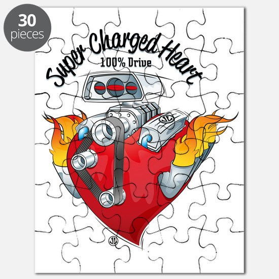 Super Charged Heart 100% Drive Puzzle