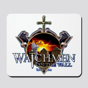 Watchmen on the wall Mousepad