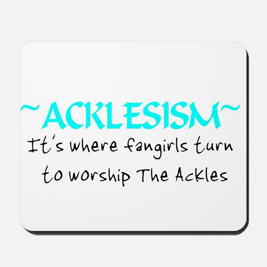 Acklesism Mousepad