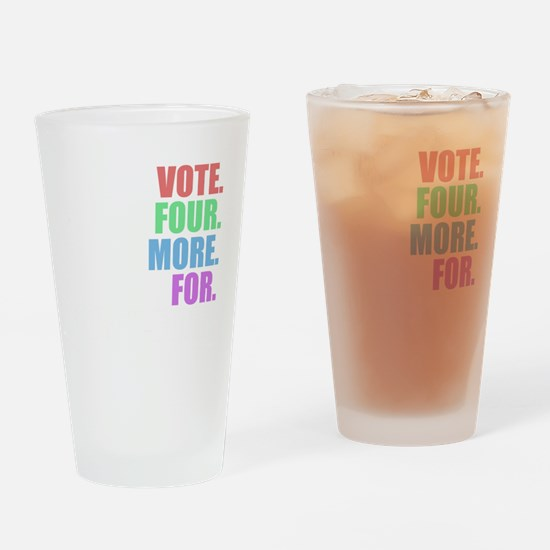 Vote four more for forty-four Shirt Drinking Glass