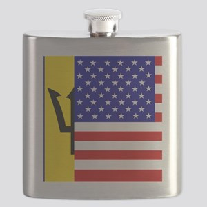 Custom Flags R Us Flask