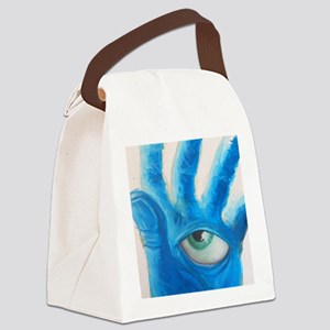 The Watchful Eye Canvas Lunch Bag