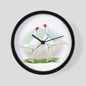 White Moderns Wall Clock