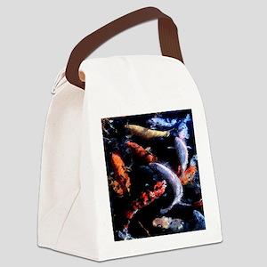 Koi Fresco Canvas Lunch Bag