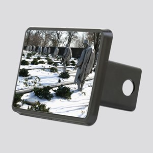 Korean war memorial vetera Rectangular Hitch Cover