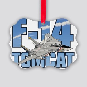 F-14 Tomcat Picture Ornament