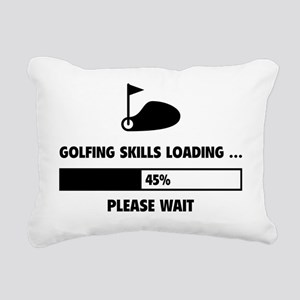 LoadingGolf1A Rectangular Canvas Pillow