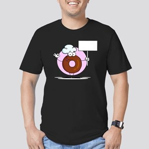 Doughnut_0031 Men's Fitted T-Shirt (dark)