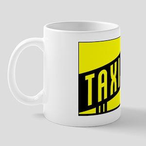 retro taxi cab Mug
