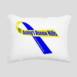 Cushings Kills Rectangular Canvas Pillow