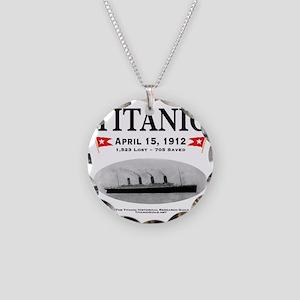 TG2RoundTag5 Necklace Circle Charm