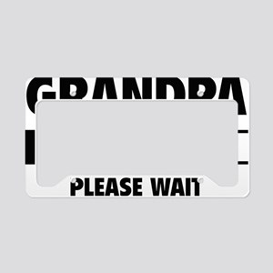 LoadingGrandpa1A License Plate Holder