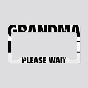 LoadingGrandma1C License Plate Holder