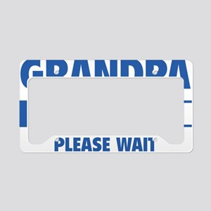 LoadingGrandpa1C License Plate Holder