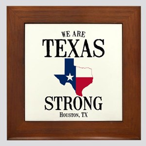 Houston Tx Framed Tile
