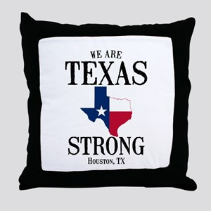 Houston Tx Throw Pillow
