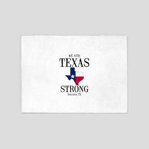 Houston TX 5'x7'Area Rug