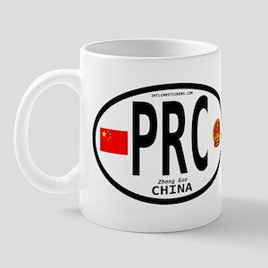 China Euro-style Code Mug