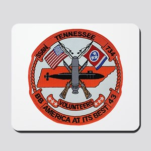 USS TENNESSEE Mousepad