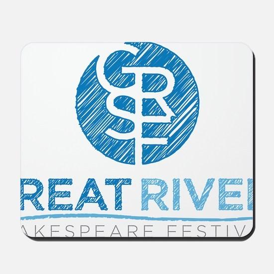 GRSf logo Mousepad
