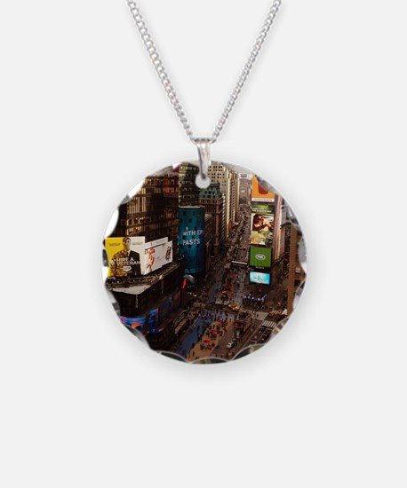 room with a view... TIMES SQ Necklace