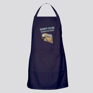 DADDY-TO-BE Eating for Three Apron (dark)