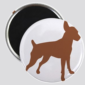 Shadow Miniature Pinscher v4 Magnet