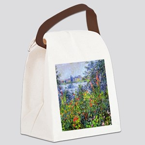 Monet Canvas Lunch Bag