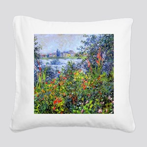Monet Square Canvas Pillow