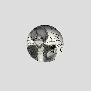 Anime 'Heartless' Mini Button