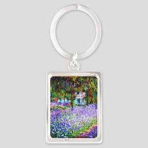 Monet Portrait Keychain