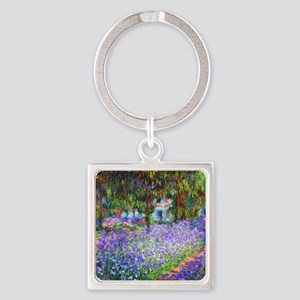 Monet Square Keychain