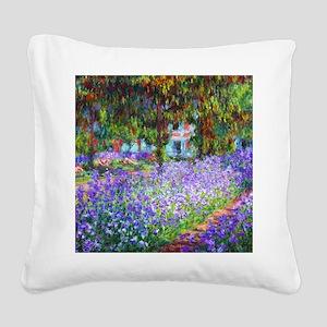 Monet Square Canvas Pillow