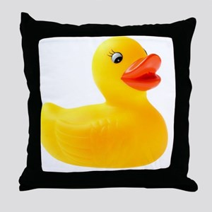 Rubber Duck Throw Pillow