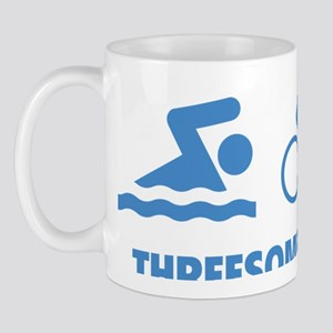 triaThreesome2D Mug