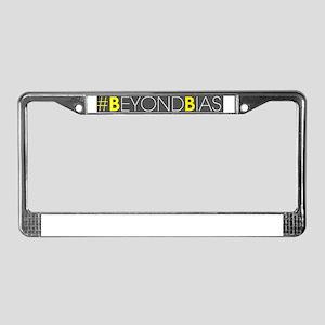 #BeyondBias License Plate Frame