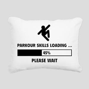 LoadingParkour1A Rectangular Canvas Pillow