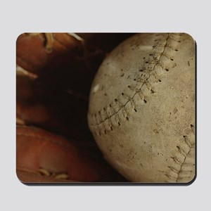 Vintage Baseball Mousepad