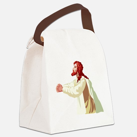 Jesus_0022.gif Canvas Lunch Bag