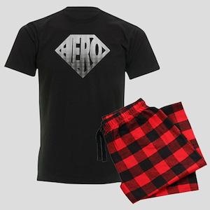 Hero Men's Dark Pajamas