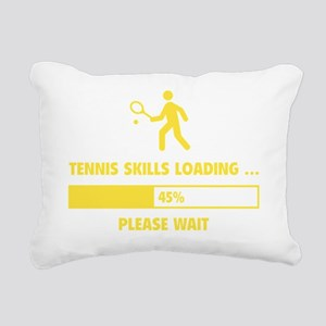 LoadingTennis1E Rectangular Canvas Pillow